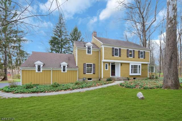 6 Oak Knoll Rd, Mendham Twp., NJ 07945 (MLS #3599974) :: William Raveis Baer & McIntosh
