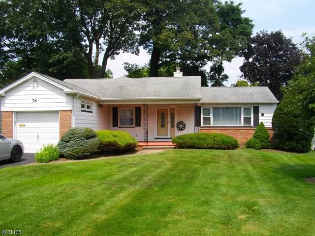 76 Warwick Cir, Springfield Twp., NJ 07081 (MLS #3600784) :: Zebaida Group at Keller Williams Realty