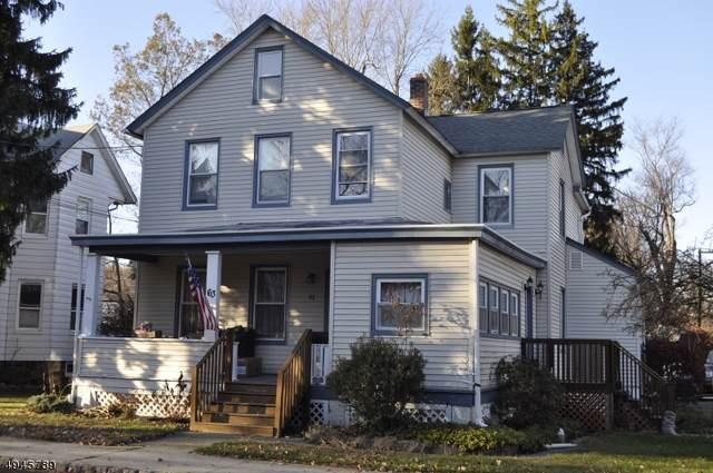 63 E Dewey Ave, Wharton Boro, NJ 07885 (MLS #3601574) :: The Debbie Woerner Team