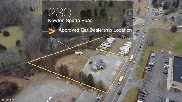 230 Newton Sparta Rd, Andover Twp., NJ 07860 (MLS #3602974) :: William Raveis Baer & McIntosh