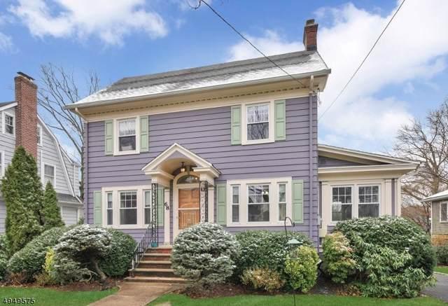 68 Oakview Ave, Maplewood Twp., NJ 07040 (MLS #3605158) :: Coldwell Banker Residential Brokerage