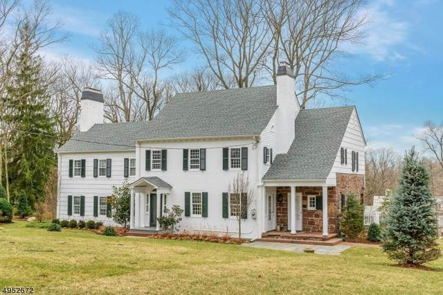 81 Old Chester Rd, Essex Fells Twp., NJ 07021 (MLS #3609636) :: The Lane Team