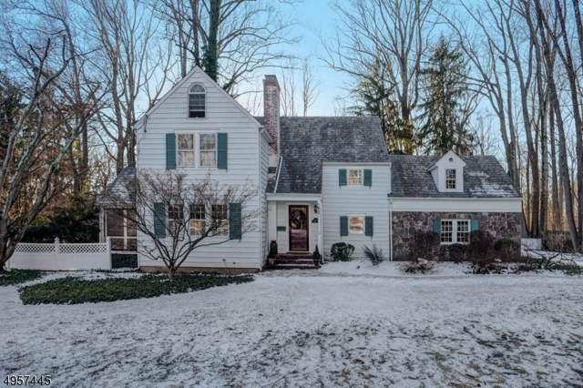 165 Woodland Ave, Morris Twp., NJ 07960 (MLS #3611896) :: William Raveis Baer & McIntosh