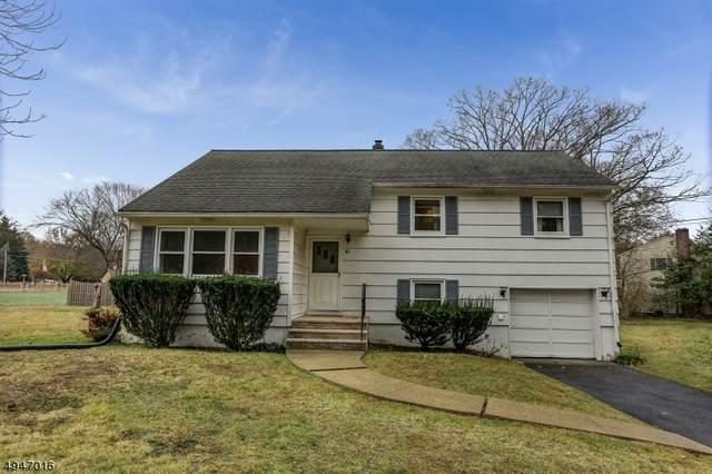 40 Crescent Dr, Hanover Twp., NJ 07981 (MLS #3618522) :: The Douglas Tucker Real Estate Team LLC