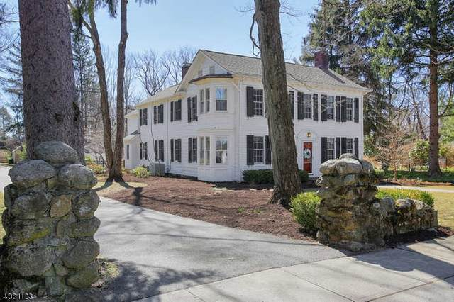 6 Prospect St, Mendham Boro, NJ 07945 (#3620208) :: Nexthome Force Realty Partners
