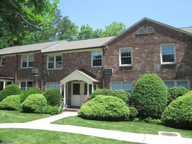 380 Main St Unit 20 #20, Chatham Boro, NJ 07928 (MLS #3623782) :: The Debbie Woerner Team
