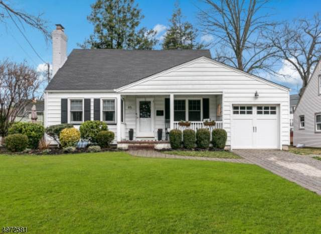 45 W Holly St, Cranford Twp., NJ 07016 (#3624995) :: Daunno Realty Services, LLC