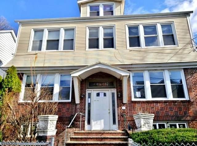 416 Leslie St, Newark City, NJ 07112 (MLS #3627356) :: SR Real Estate Group