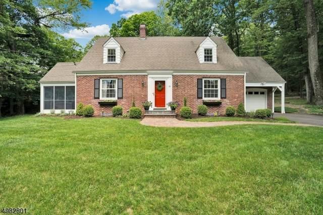 95 Old Fort Rd, Bernardsville Boro, NJ 07924 (MLS #3636977) :: The Raymond Lee Real Estate Team
