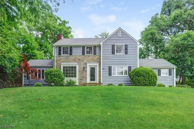 41 Hilltop Rd, Millburn Twp., NJ 07078 (MLS #3641698) :: The Dekanski Home Selling Team