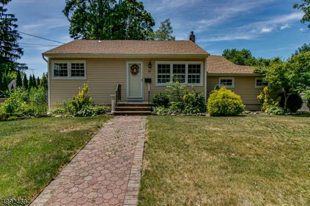 51 Kipling Ave, Springfield Twp., NJ 07081 (MLS #3643347) :: The Lane Team