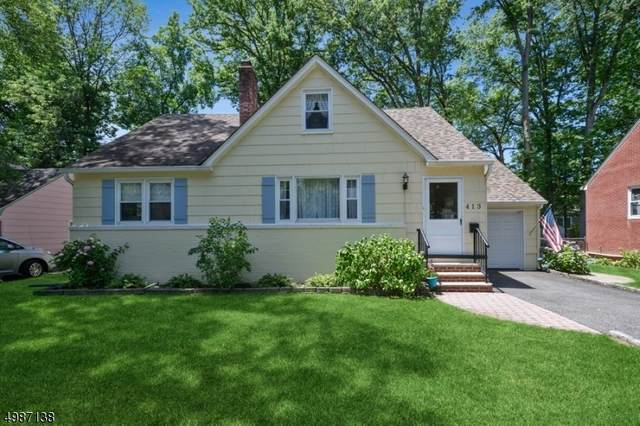 413 Manor Ave, Cranford Twp., NJ 07016 (#3643400) :: Daunno Realty Services, LLC