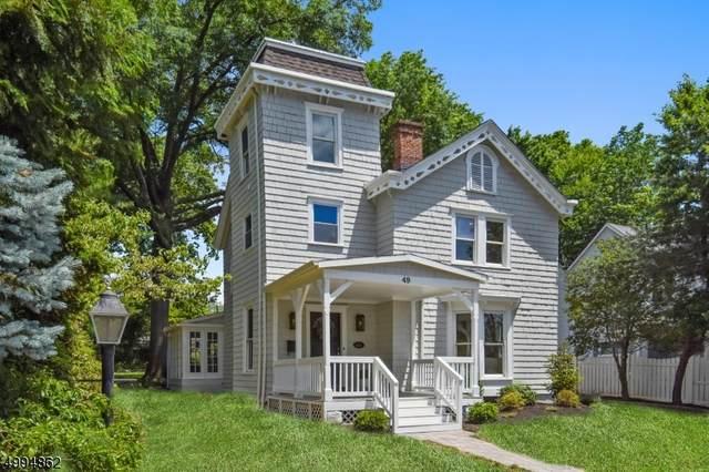 49 Chestnut St, Millburn Twp., NJ 07041 (MLS #3644660) :: Coldwell Banker Residential Brokerage