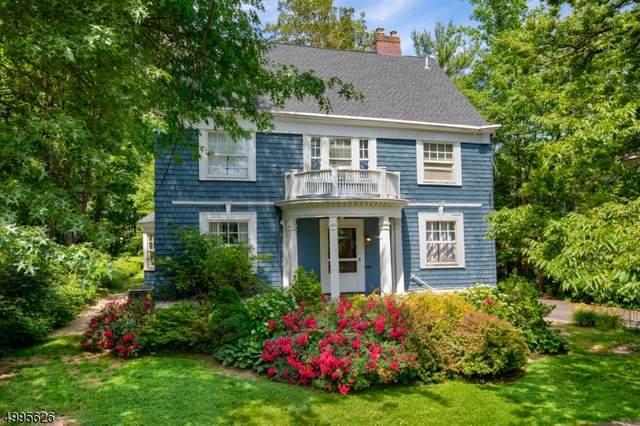 27 Mountain Ave, Maplewood Twp., NJ 07040 (MLS #3645310) :: The Dekanski Home Selling Team