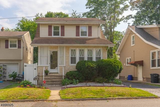 345 E Stearns St, Rahway City, NJ 07065 (MLS #3646478) :: The Sikora Group