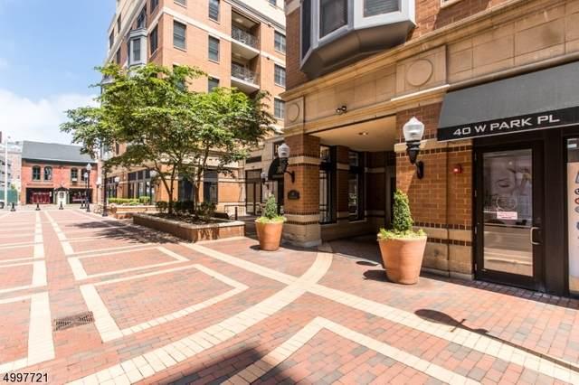 40 W Park 601 #601, Morristown Town, NJ 07960 (MLS #3647957) :: SR Real Estate Group