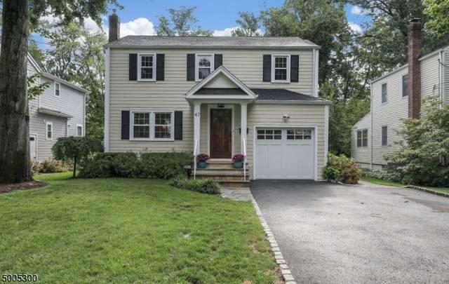 47 Tallmadge Ave, Chatham Boro, NJ 07928 (MLS #3653998) :: The Sue Adler Team