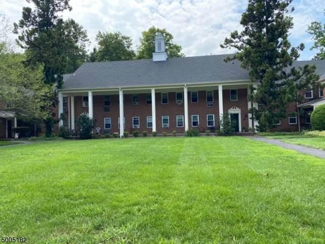 132 Claremont Rd Unit 1D 1D, Bernardsville Boro, NJ 07924 (MLS #3654254) :: The Dekanski Home Selling Team