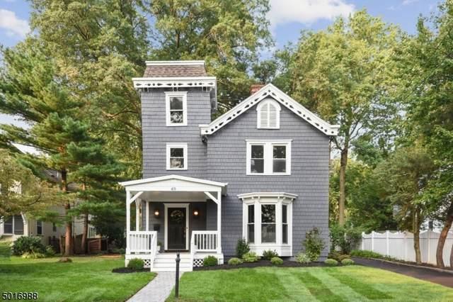 49 Chestnut St, Millburn Twp., NJ 07041 (MLS #3664756) :: The Karen W. Peters Group at Coldwell Banker Realty