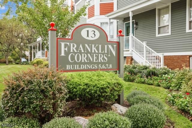13 Franklin Pl 7B B, Morristown Town, NJ 07960 (MLS #3667318) :: The Debbie Woerner Team