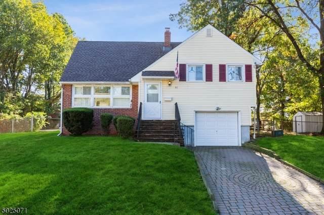 61 Wall St, Cranford Twp., NJ 07016 (MLS #3671940) :: REMAX Platinum