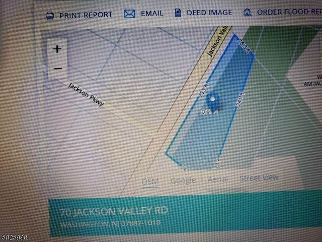 70 Jackson Valley Rd, Washington Twp., NJ 07882 (MLS #3673159) :: RE/MAX Platinum