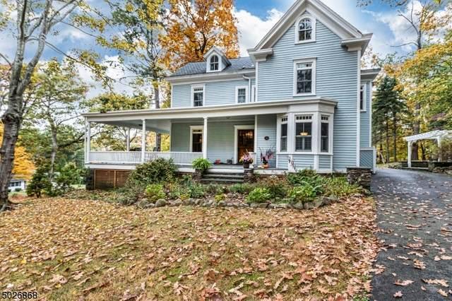 136 Cross Hill Rd, Long Hill Twp., NJ 07946 (MLS #3673528) :: William Raveis Baer & McIntosh