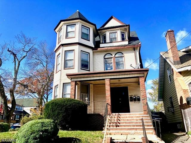 583 585 SANFORD AVE, Newark City, NJ 07106 (MLS #3676059) :: The Sikora Group