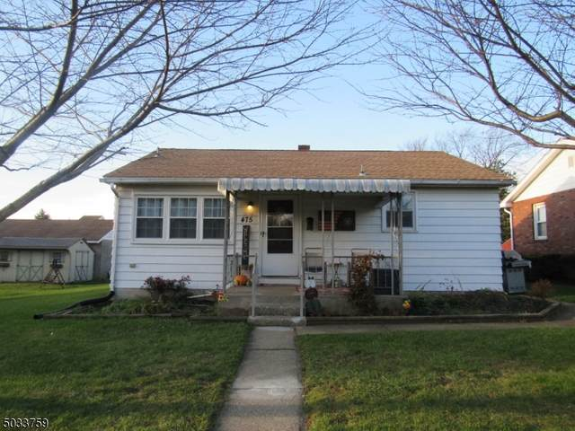 475 Pursel St, Phillipsburg Town, NJ 08865 (MLS #3680102) :: Team Cash @ KW