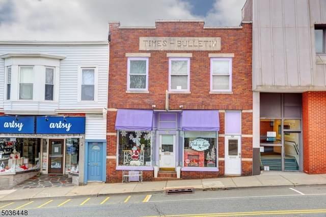 506 Main St, Boonton Town, NJ 07005 (MLS #3682389) :: William Raveis Baer & McIntosh