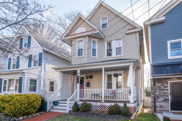 52 Madison St, Morristown Town, NJ 07960 (MLS #3688421) :: The Sikora Group