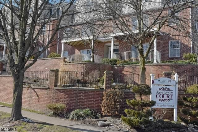 44 Ridgedale Ave #23, Morristown Town, NJ 07960 (MLS #3690025) :: Team Gio | RE/MAX