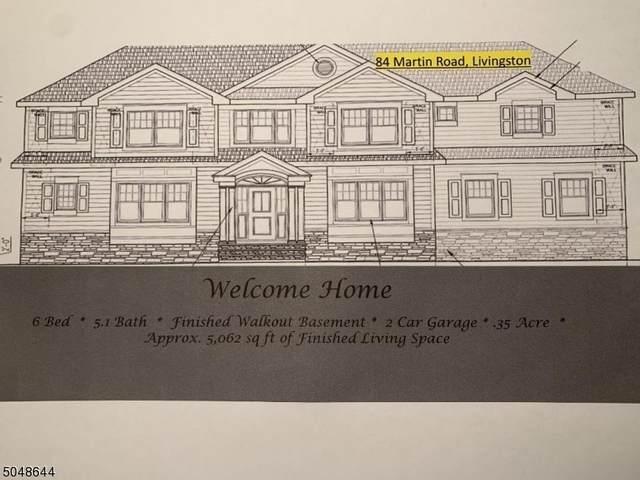 84 Martin Road, Livingston Twp., NJ 07039 (MLS #3692521) :: The Sikora Group