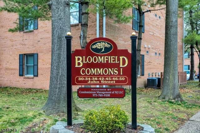 34 John St 1D, Bloomfield Twp., NJ 07003 (MLS #3700367) :: RE/MAX Platinum