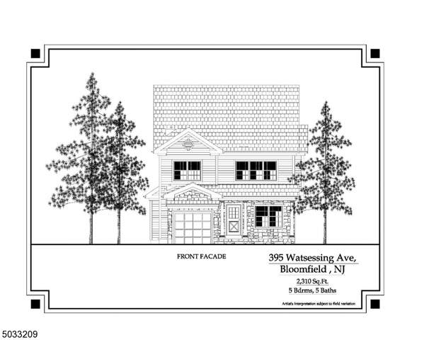395 Watsessing Ave, Bloomfield Twp., NJ 07003 (MLS #3710897) :: Kaufmann Realtors