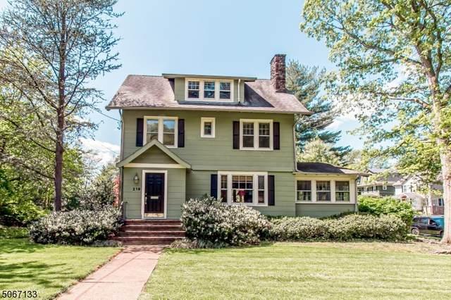 219 N Chestnut St, Westfield Town, NJ 07090 (MLS #3712183) :: Coldwell Banker Residential Brokerage