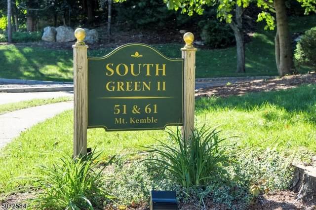 51 Mt. Kemble Ave Unit 202 #202, Morristown Town, NJ 07960 (MLS #3713495) :: Gold Standard Realty