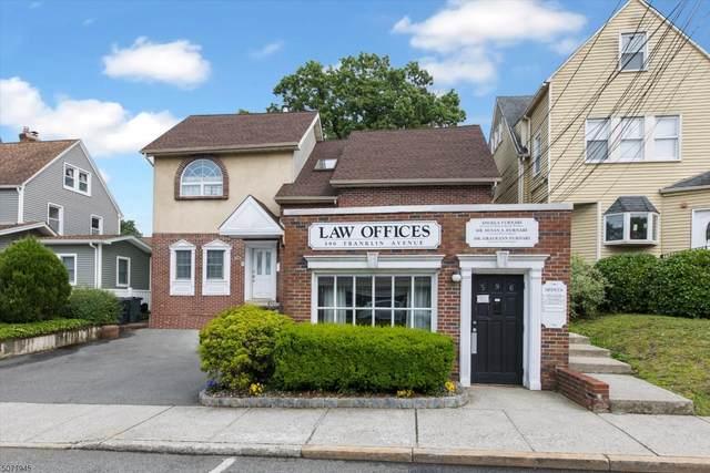 596 Franklin Avenue, Nutley Twp., NJ 07110 (MLS #3719320) :: Weichert Realtors