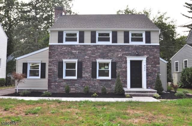 423 Edgewood Ave, Westfield Town, NJ 07090 (MLS #3729534) :: SR Real Estate Group