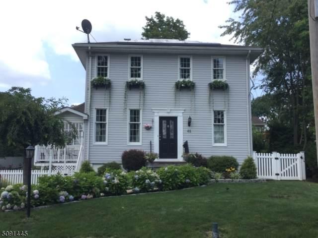 41 Washington Ave, Parsippany-Troy Hills Twp., NJ 07034 (MLS #3730749) :: Gold Standard Realty