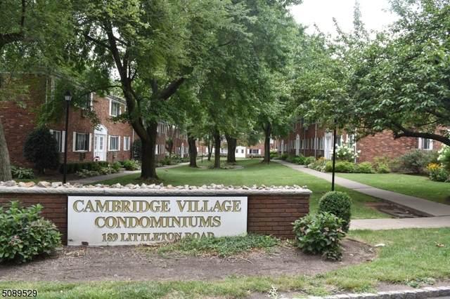 189 Littleton Rd #19, Parsippany-Troy Hills Twp., NJ 07054 (MLS #3730923) :: Stonybrook Realty
