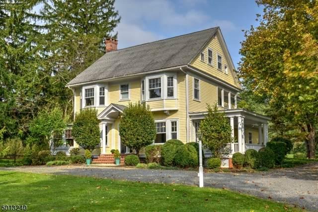 150 Mendham Rd East, Mendham Twp., NJ 07945 (MLS #3732421) :: The Sikora Group