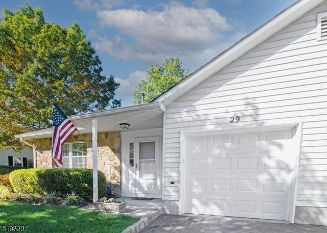 29 Coachlight Dr #29, Chatham Twp., NJ 07928 (MLS #3744377) :: SR Real Estate Group