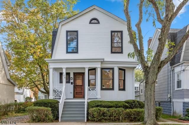 115 Franklin Ave, Maplewood Twp., NJ 07040 (MLS #3747630) :: Zebaida Group at Keller Williams Realty