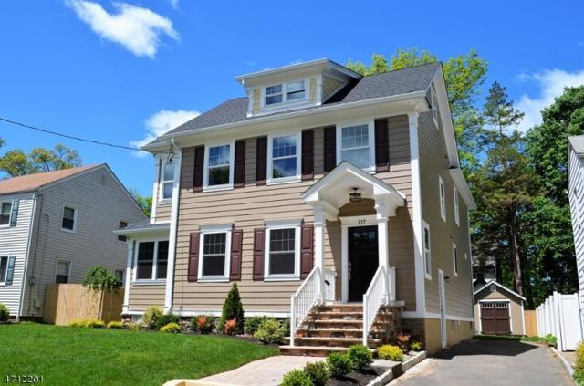 217 Belvidere Ave, Fanwood Boro, NJ 07023 (MLS #3387485) :: The Dekanski Home Selling Team