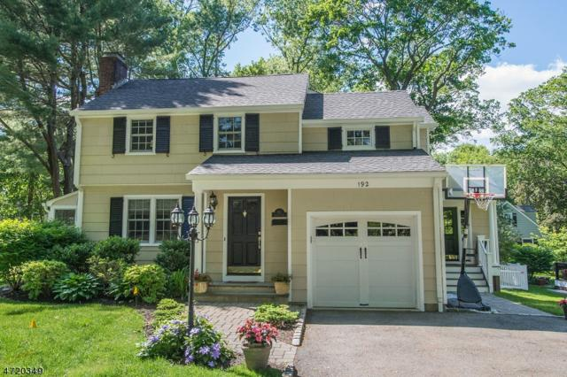 192 Lafayette Ave, Chatham Twp., NJ 07928 (MLS #3393906) :: The Sue Adler Team