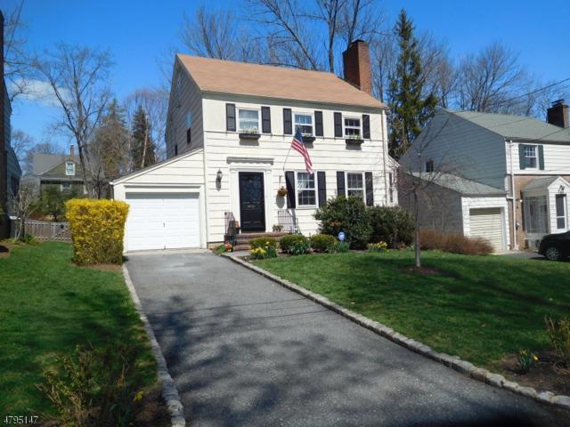 12 Carleton Ct, Maplewood Twp., NJ 07040 (MLS #3462972) :: The Sue Adler Team