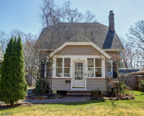 815 W North Ave, Westfield Town, NJ 07090 (MLS #3625336) :: The Dekanski Home Selling Team