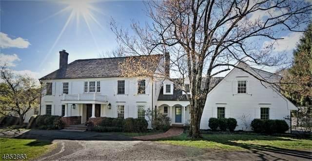 100 Post Kennel Rd, Bernardsville Boro, NJ 07924 (MLS #3629902) :: The Dekanski Home Selling Team