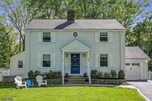 203 Longwood Ave, Chatham Twp., NJ 07928 (MLS #3632654) :: Coldwell Banker Residential Brokerage